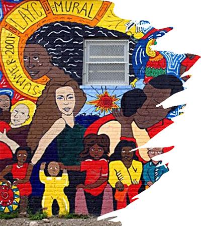Mural of Hispanic culture